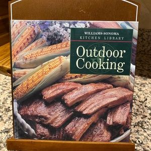 William-Sonoma Outdoor Cooking Cookbook Vintage